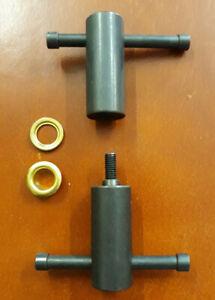 """Ivan Brand 3/8"""" (9.53mm) ID No 24  Twist Type Grommet Setter Hand Tool"""