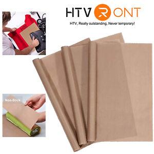 3Pack 16x20'' PTFE Teflon Sheet for Heat Press Transfer Non Stick Paper Reusable