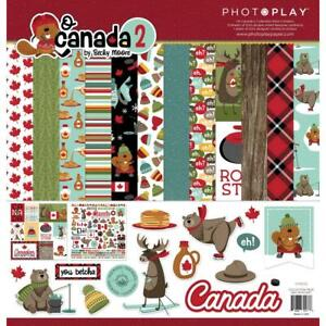O CANADA #2 Collection Pack 12X12 Scrapbooking Kit Photo Play OHC2477 New
