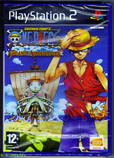 PS2 One Piece: Grand Adventure (2006), UK Pal, Brand New & Sony Factory Sealed