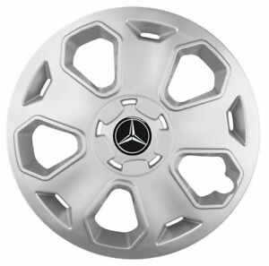 15'' Wheel trims for Mercedes Citan silver 4x15''