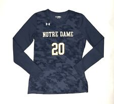 New Under Armour Notre Dame Ultimate Spike Long Sleeve Jersey Women's Small