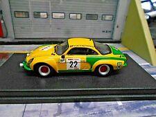 RENAULT Alpine A110 Rallye Ypern Ypres 1976 #22 Roothaert BP 1/150 Trofeu 1:43