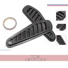 2Pcs Universal Auto Car Decorative Air Flow Intake Hood Scoop Vent Bonnet Cover