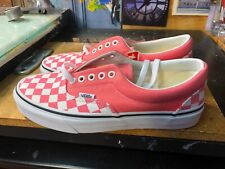 effa8cbc2f Vans Era Checkerboard Strawberry Pink Size US 8.5 Men (10 Women) VN0A38FRVOX