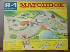 MATCHBOX  LESNEY  MODEL R1 ROADWAY  WITH FOLD AWAY FLYOVER LAYOUT