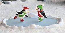 Miniature Fairy Garden Penguin Ice Skating Pond Fairy Garden 17361
