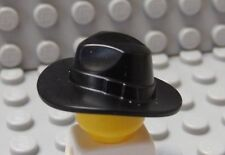 LEGO Minifig Black FEDORA HAT - Outback Minifig Head Gear