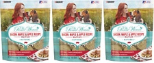(3) The Pioneer Woman Bacon, Maple & Apple Recipe Waffles Natural Dog Treats, 9-