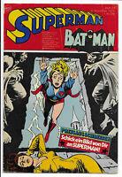 Superman Batman Nr.23 vom 8.11.1975 mit Gutscheinsammelecke - Comicheft Ehapa