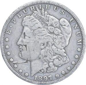 Early - 1897-O Morgan Silver Dollar - 90% US Coin *976