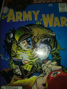 DC Millenium Edition Our Army at War#81 1st Sgt. Rock in NM Joe Kubert War story