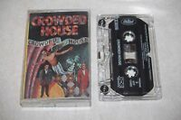 Crowded House SELF TITLED DEBUT Original 1986 US Release Music CASSETTE Tape
