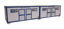 WC-Container Toilettencontainer 2er Set HO 1:87 Kartonmodellbausatz