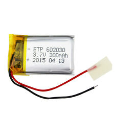 602030 3.7V 300mAh Rechargeable Li-ion Battery For Bluetooth Talking Pen