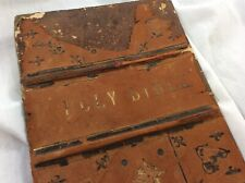 Antique Family Devotional Bible with Family Registry History c1880 - Restoration