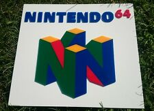 Nintendo 64 3D sign Game SIGN