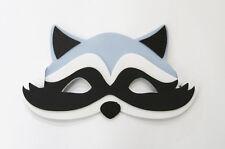 Raccoon Farm Animal Jungle Safari Foam Mask Fancy Dress School Party New