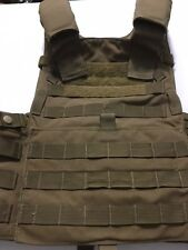 LBT 6094A London Bridge Trading Plate Carrier, Coyote Brown Medium/Large USED