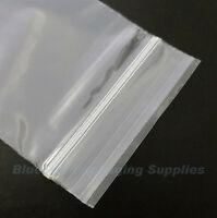 "1000 Grip Seal Clear Resealable Poly Bags 1.5"" x 2.5"""