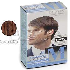 Dikson Shampoo Color M for Man Uomo Capelli grigi bianchi colore Castano chiaro
