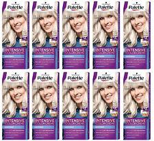 10x Palette Intensive Color Cream 9.5-1 (C9) Platinum Silver Blonde Permanent
