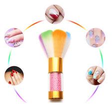 EG_coloré ongle poussière brosse Acrylique Gel UV Poudre solvant nettoyant art