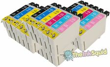 24 T0801-6/T0807 non-oem Hummingbird Ink Cartridges fits Epson Stylus R360