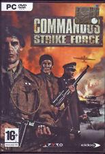 GIOCO PC COMMANDOS STRIKE FORCE NUOVO SIGILLATO NEW DVD