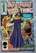 QUESTPROBE #3 FEATURING HUMAN TORCH & THE THING 1985 MARVEL