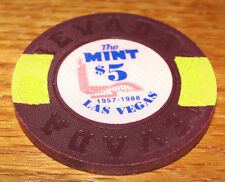 THE MINT 57-88 $5 LAS VEGAS BORLAND FANTASY CASINO POKER CHIP