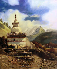 TIBETAN TEMPLE by Richard R. Nervig