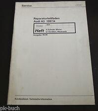 Werkstatthandbuch Audi A 3 Motor 4-Zylinder 2 Ventiler Mechanik ab 1997