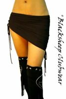 SEXY NEW 3 STYLE CLUBBING MINI SKIRT, PENCIL ASSYMETRIC BLACK WHITE RED UK 8-14
