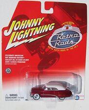 JOHNNY LIGHTNING R2 RETRO RODS 1951 MERCURY CONVERTIBLE #11 1/15,000