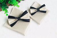MEN Boy Kid Formal Bow Tie Handkerchief Pocket Square Bowtie Wedding Set