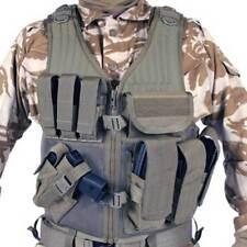 Blackhawk 30EV26DEL Omega Cross Draw/Pistol Mag Tactical Vest, Coyote Tan, Left