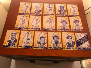 1982-83 Marquette Warriors 16 Card Set, Doc Rivers, Rick Majerus