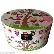 Owls Musical Jewellery Box Girls Kids Children Quality by Floss & Rock