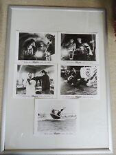 ALLIGATOR MOVIE HORROR LOBBY CARDS [5] 1980 FIVE (5) DEAN JAGGER ROBERT FORSTER