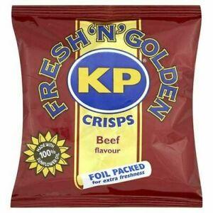 KP Beef Crisps 25g 48 Pack