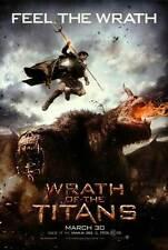 WRATH OF THE TITANS Movie Promo POSTER Sam Worthington Liam Neeson Ralph Fiennes