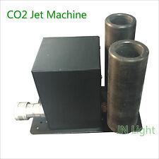 1PC Dual Pipes CO2 Jet Machine DMX Fog Smoke  Stage DJ Event Effect