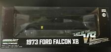GREENLIGHT 1:18 Diecast Car XB FORD FALCON MAD MAX Black Last V8 Interceptor