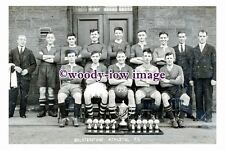rp13051 - Bolsterstone Athletic Football Team 1936 - photograph