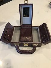Vintage  JEWELRY BOX  LEATHER(?)