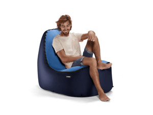 TRONO Inflatable Lounge Chair w/No-Strain Back Support | NEW