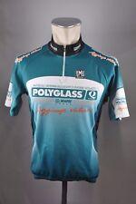 Polyglass Santini cycling jersey Fahrrad Bike Rad Trikot Gr. L 54cm K1