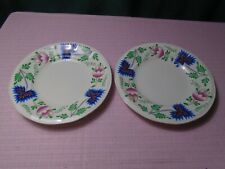 """Iroquois Greenfield Village Plate (2)  7"""" 1950-75  Old Backstamp"""