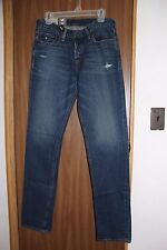 NWT HOLLISTER MENS LIGHT WASH SKINNY BUTTON FLY JEANS SIZE 32x34